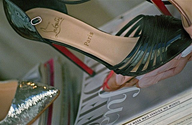 Louboutin in black