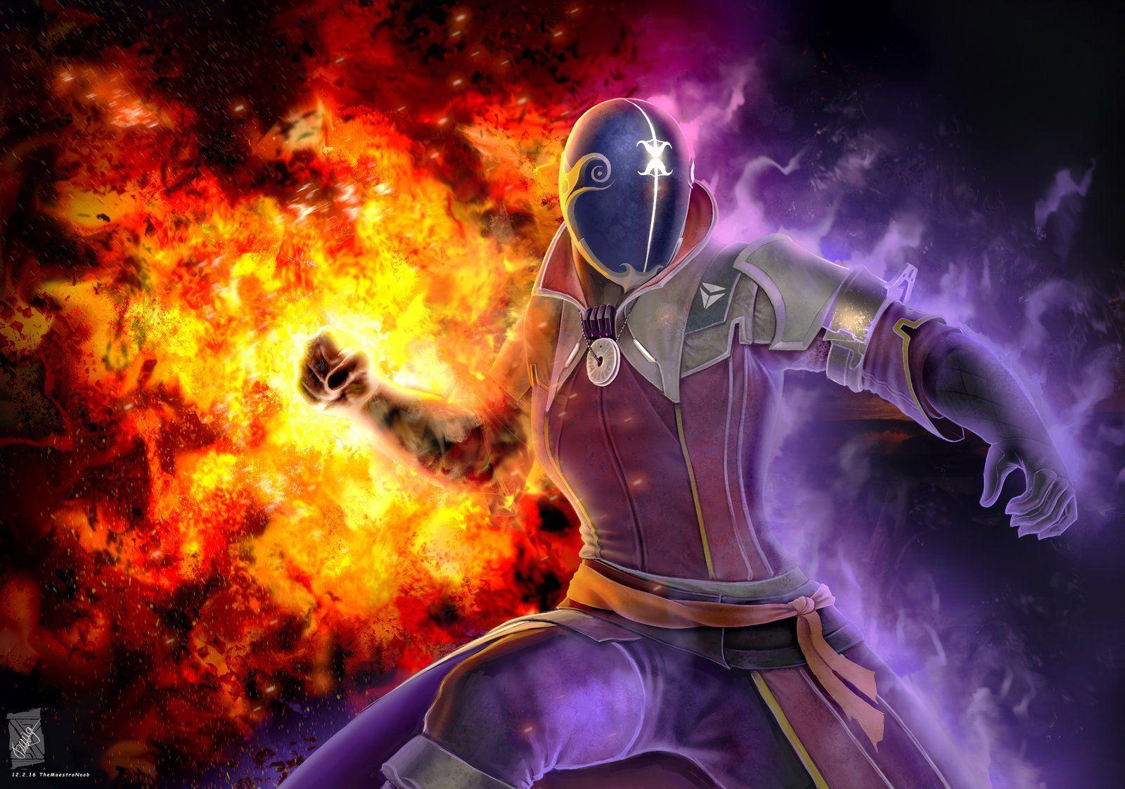 Destiny Warlock Sunsinger Wallpaper HD AS5