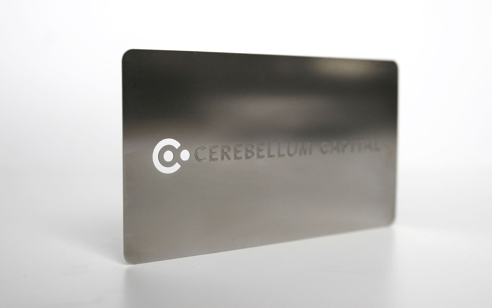 Brand identity for Cerebellum Capital, a hedge fund management firm whose investment programs are continuously designed, executed, and improved by a software system based on techniques from statistical machine learning