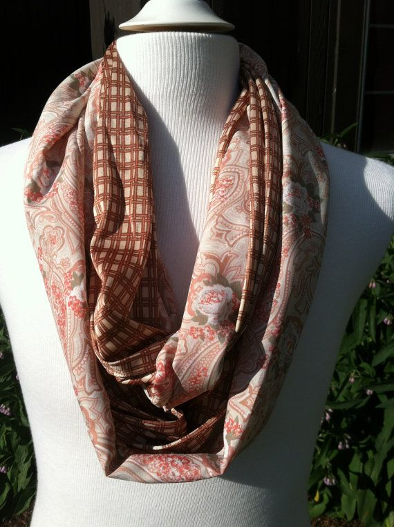 Stackable infinity scarf by SalvagedSky on Etsy, $5.00