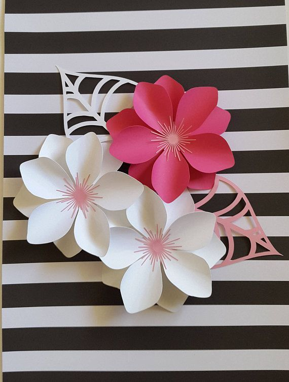 Moldes E Ideas Para Hacer Flores De Papel Gigantes Dekoracje