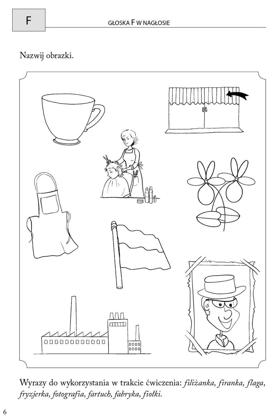 Clippedonissuu From Obrazkowe Cwiczenia Logopedyczne Dla Przedszkolakow Education School Logos