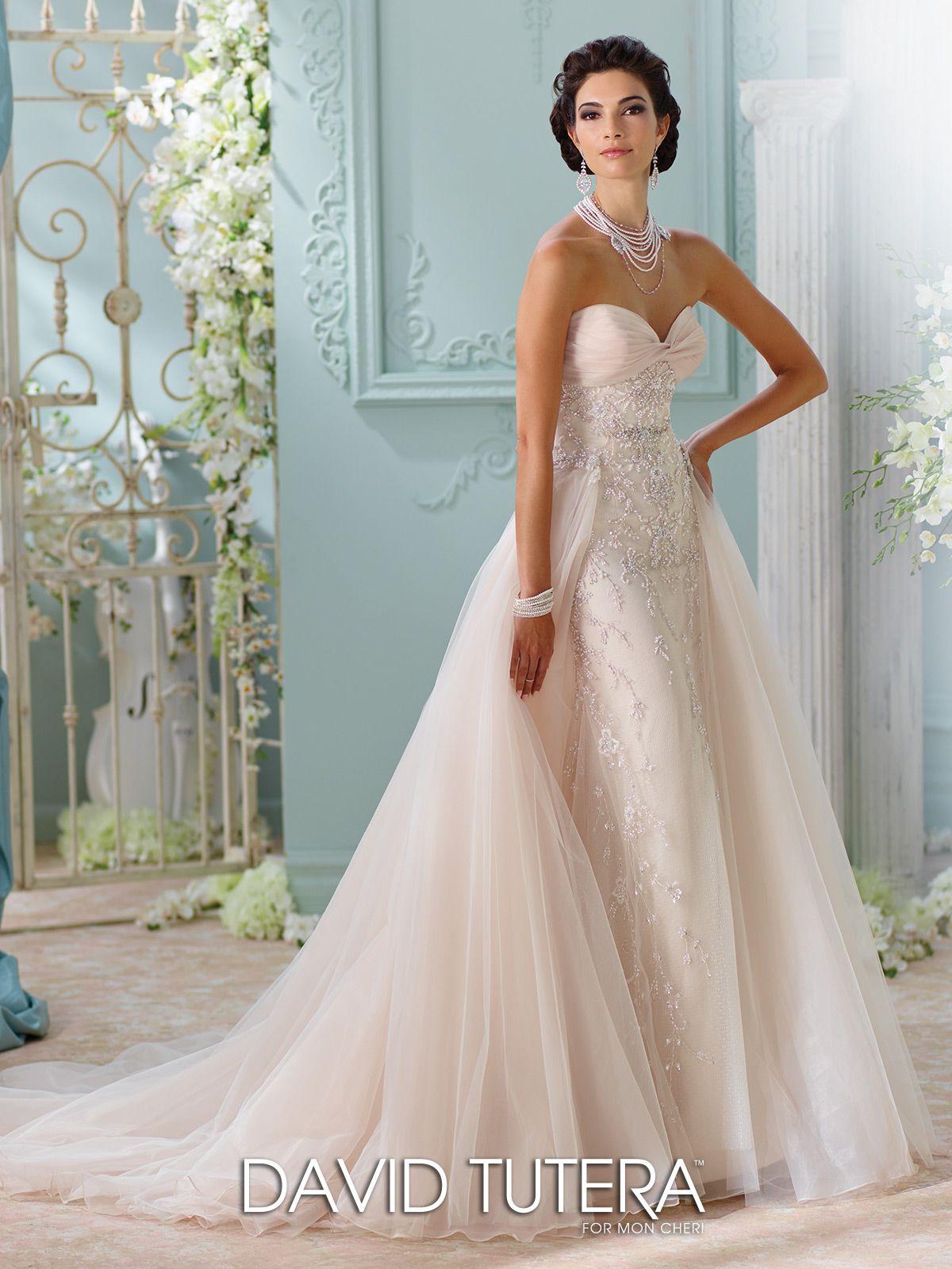 Fancy Two Piece Wedding Gown Elaboration - All Wedding Dresses ...
