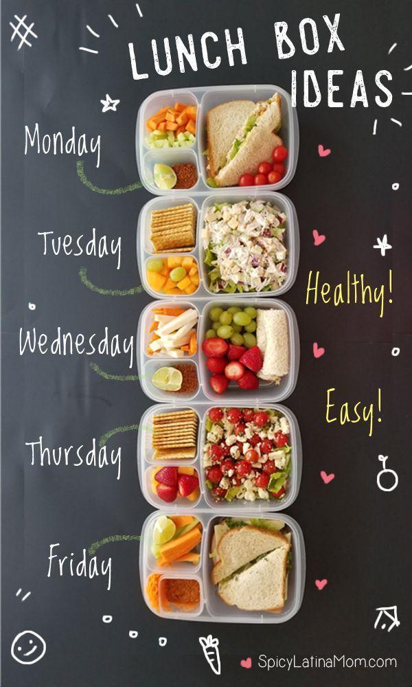 Gesundes Essen und mexikanisches gesundes Essen 5 LUNCH BOX IDEAS - ZURÜCK ZUR SCHULE
