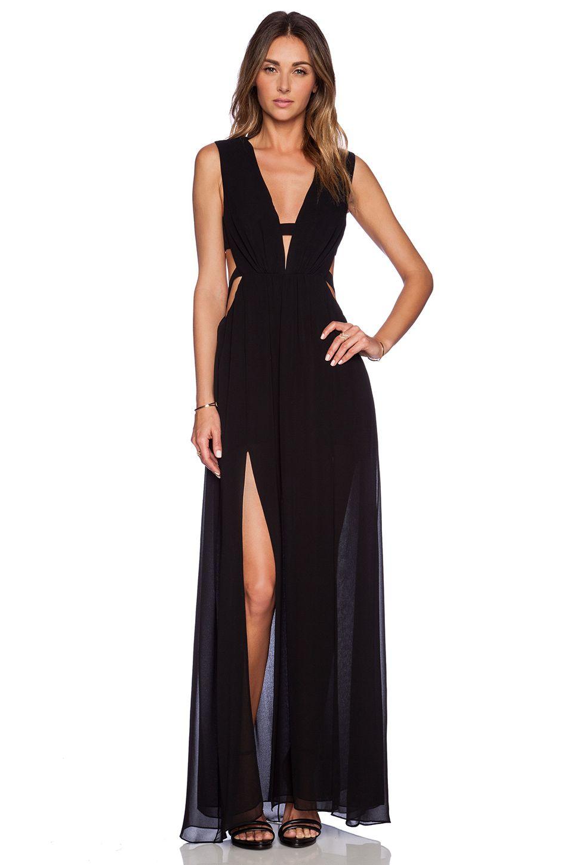 049140c0a BCBGMAXAZRIA Alda Dress in Black