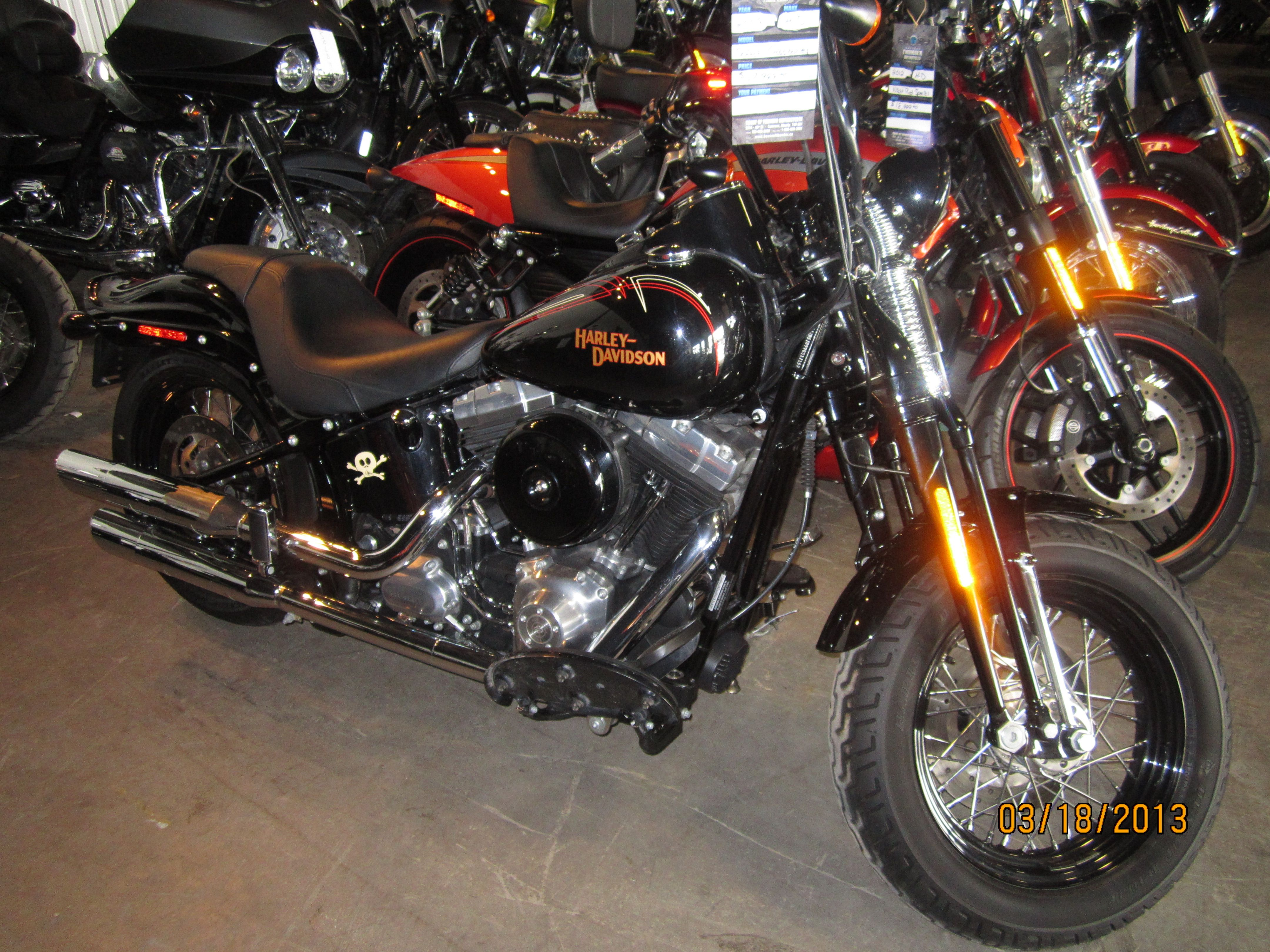 2009 Softail Crossbones 15680miles 17,999.00 Just Came in