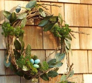 Rustic-Chic Spring Wreath