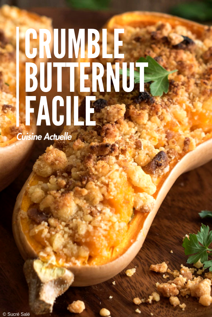 Crumble butternut