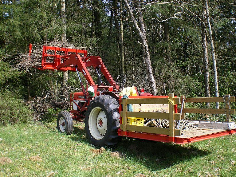 Tractor Carry All Box : Tractor attachments canada the world s best universal