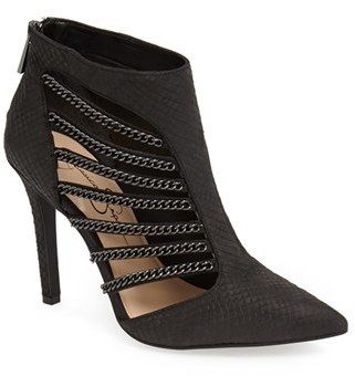 Jessica Simpson 'Camelia' Cutout Bootie (Women) available at