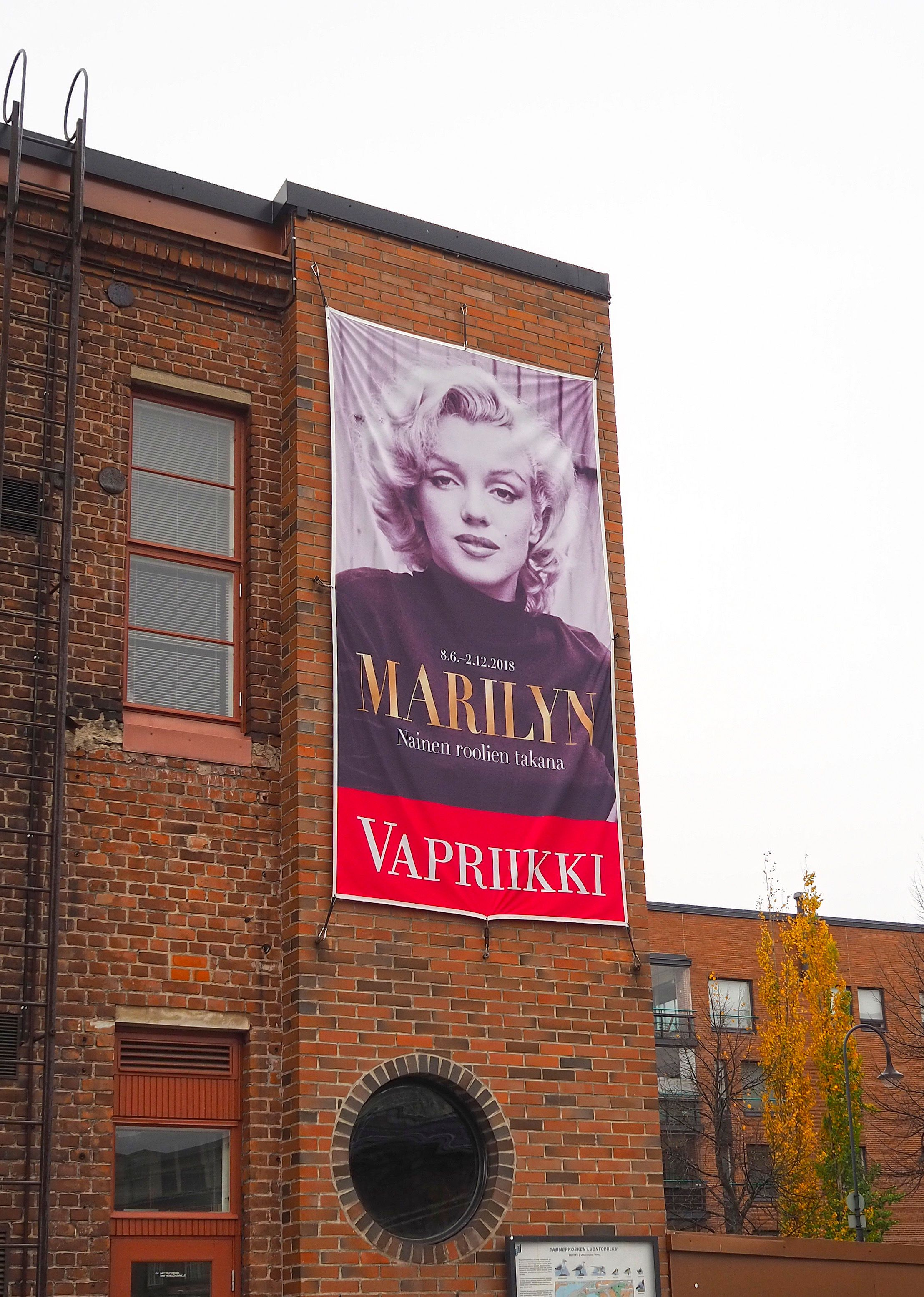 Marilyn Monroe Näyttely