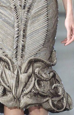 3D textured knits