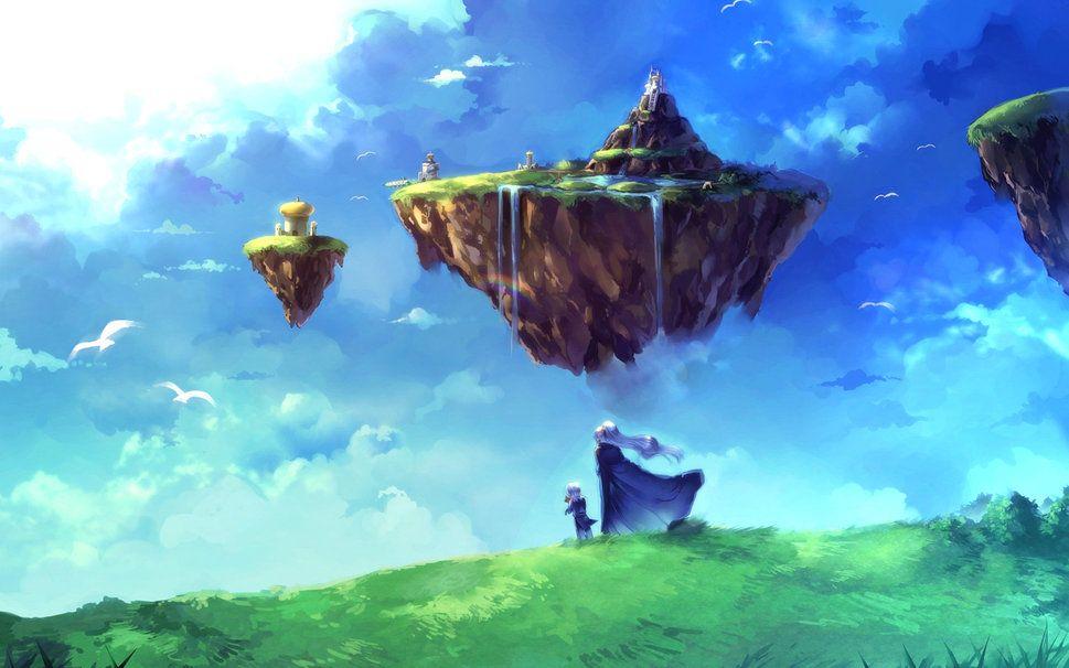 Ile Volante île volante wallpaper | chrono legacy | chrono trigger, chrono cross