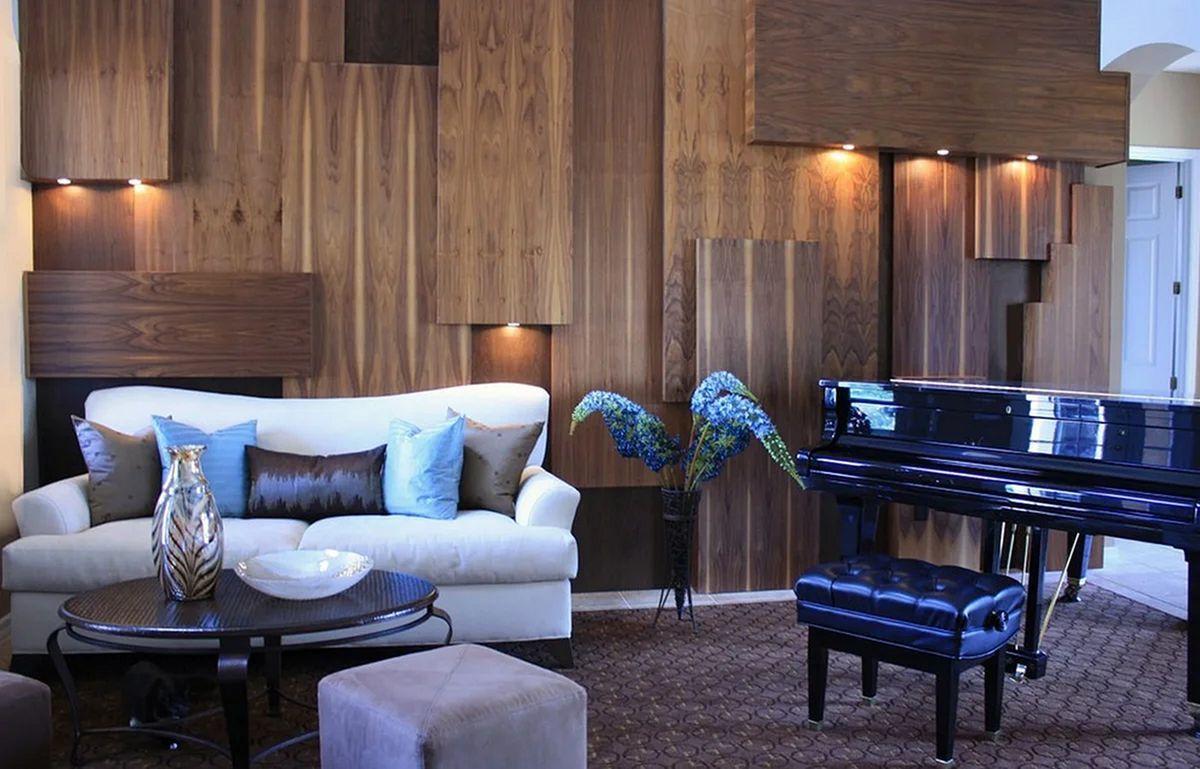 15 Astonishing Living Room Wood Wall Decoration Ideas In 2020