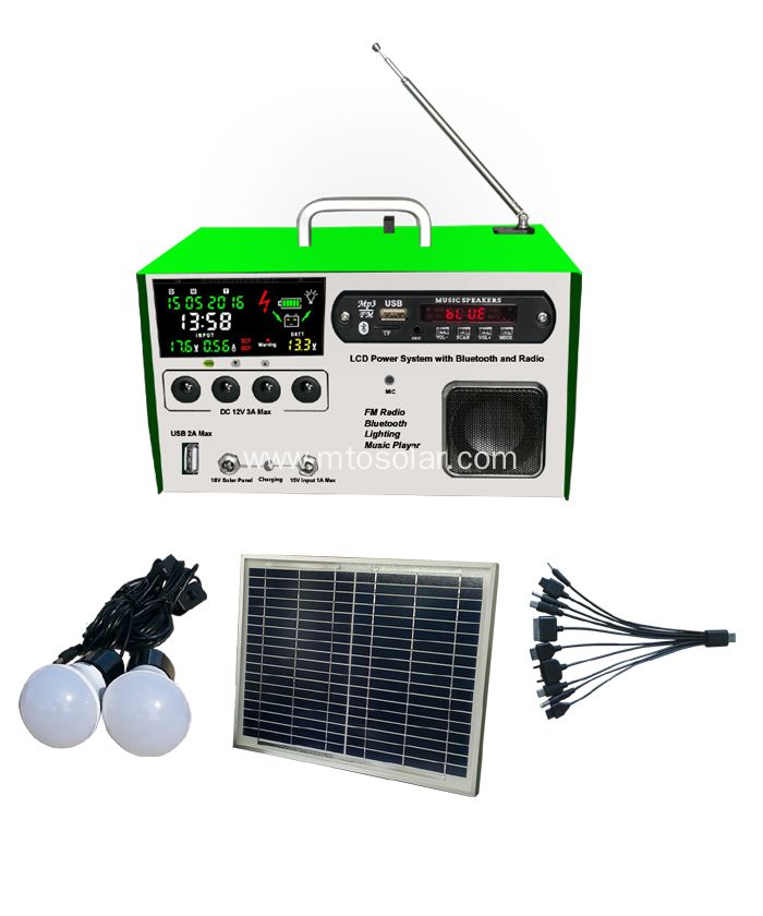 China 10w LCD solar cell Solar FM radio kit Manufacturers