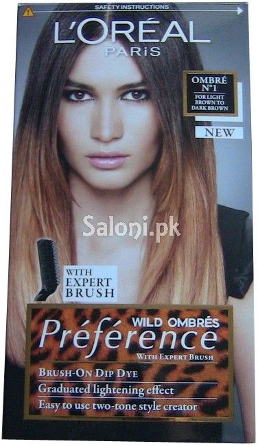 L Oreal Paris Preference Wild Ombres N1 Loreal Paris Loreal Dyed Hair Ombre