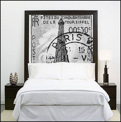 Paris decor. Travel to Paris every night in your dreams    Decorating ideas