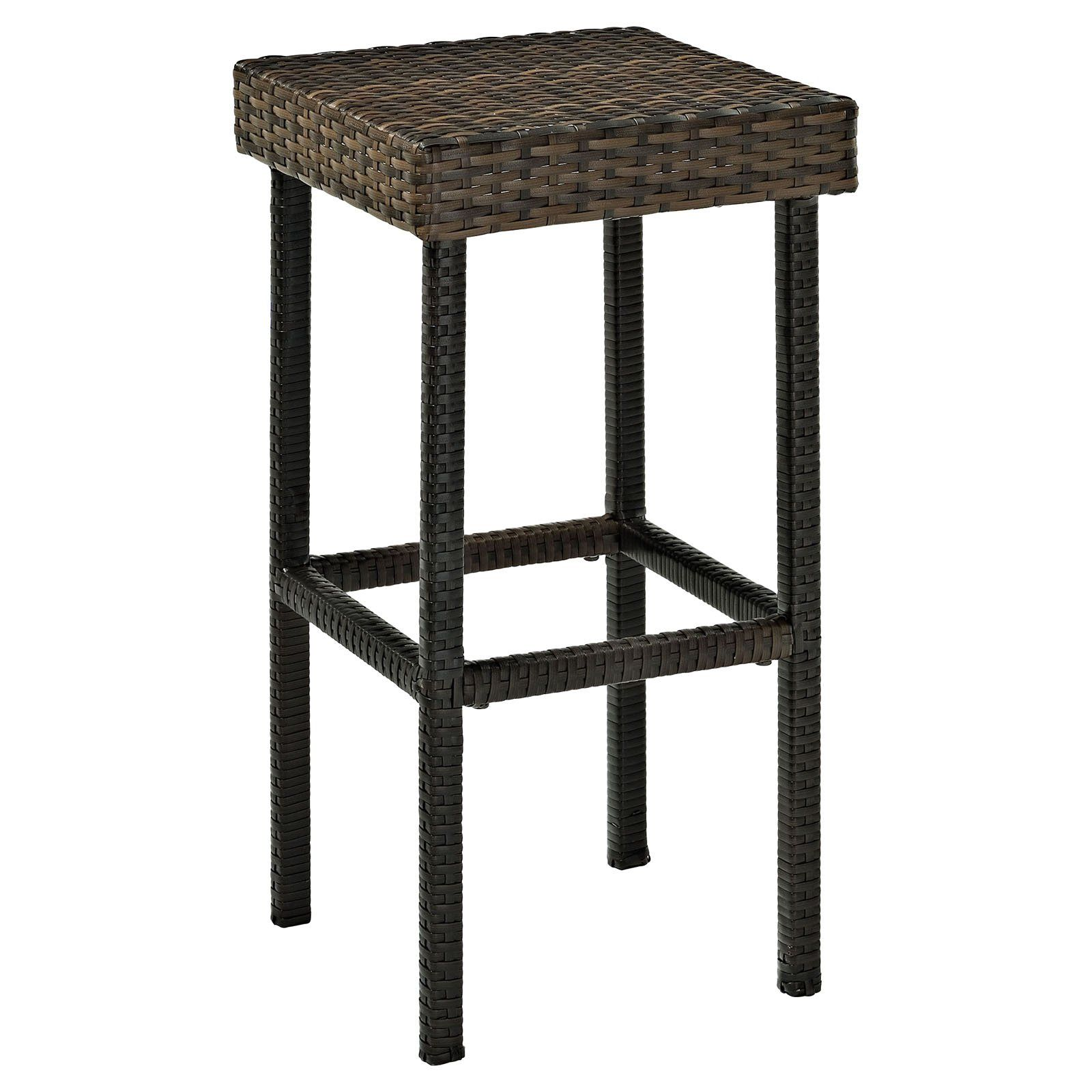 crosley palm harbor bar stool set of 2 transform your backyard