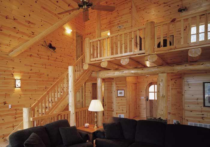Knotty Pine Knotty Pine Prefinished Paneling The Log