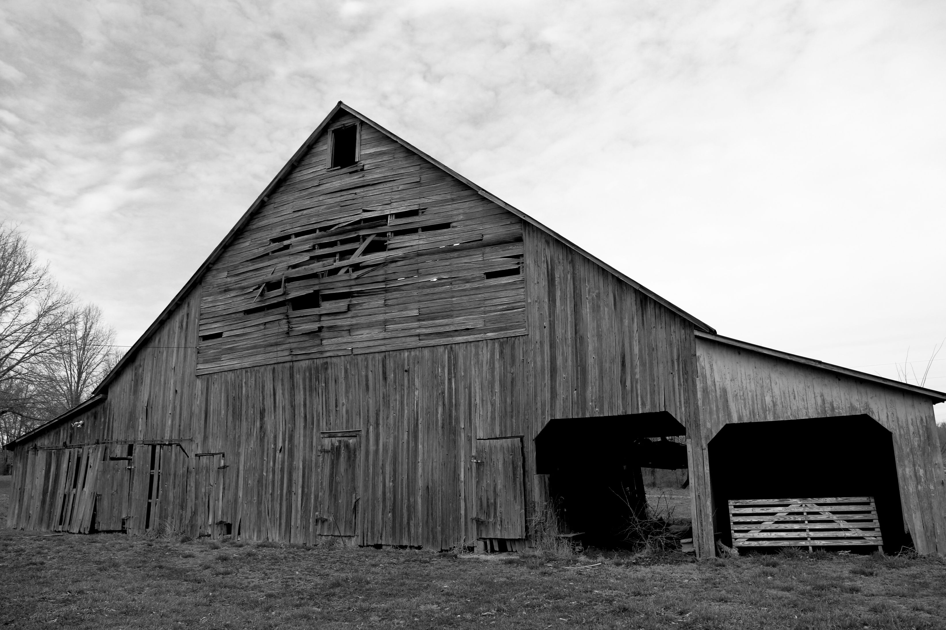 Barn in Southern Illinois near Rend Lake and Wayne