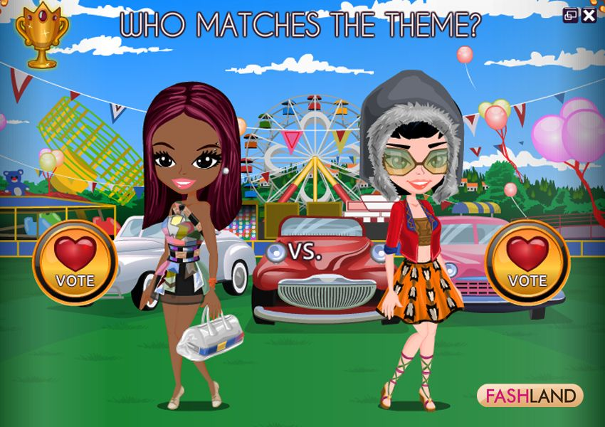 Dress up fashion facebook games