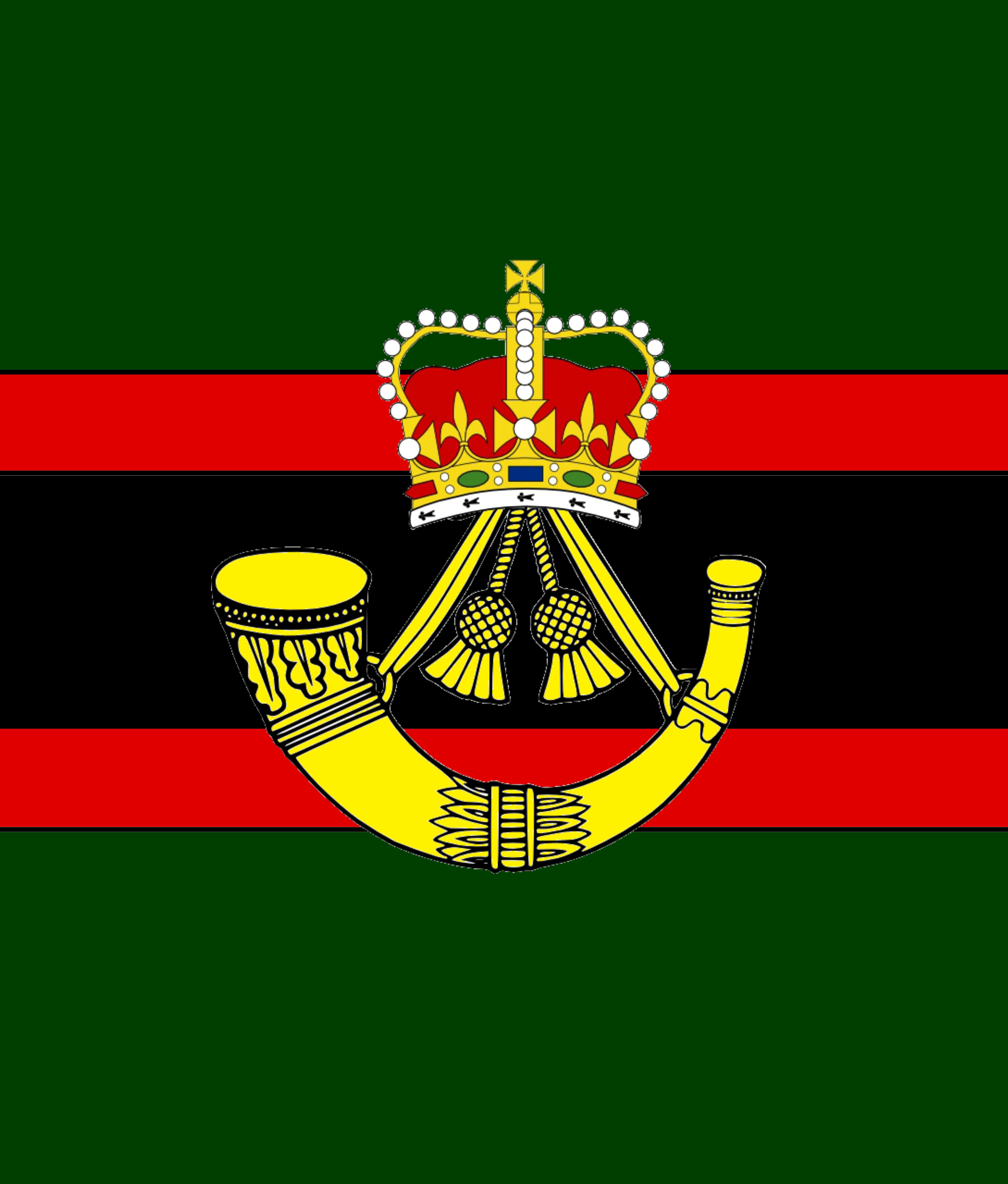 5/' x 3/' Household Division Flag British Army Regiment Regiment Military Banner