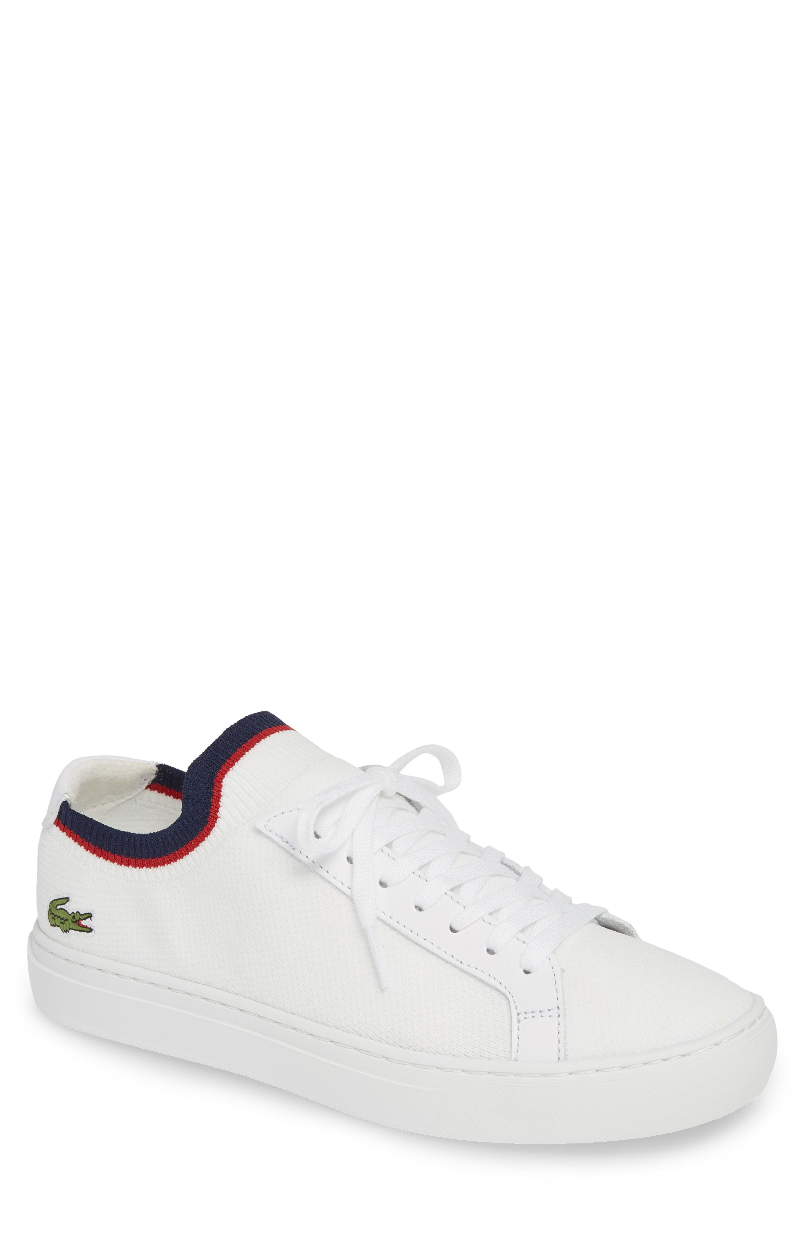 bf45fdc07b36 LACOSTE PIQUE KNIT SNEAKER.  lacoste  shoes