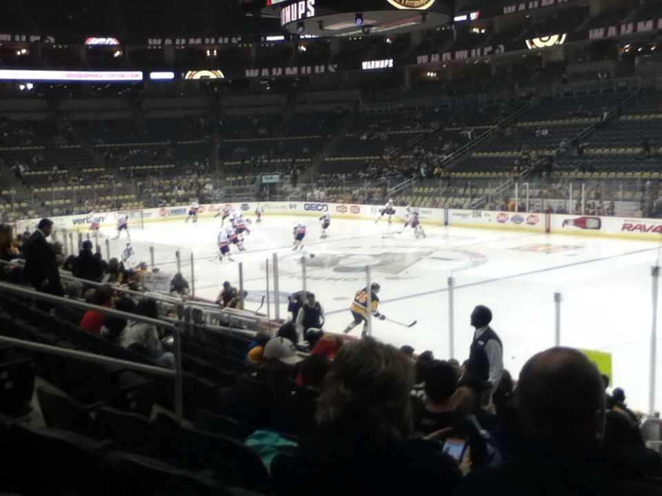 Pittsburgh Penguins Stadium: The Tryouts