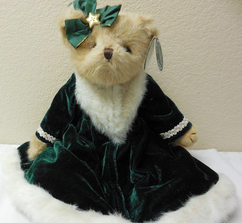 "NWT 14"" Christmas Bearington Bears""VIRGINIA PINE"" Plush #173182 Retired 2013! #1 #Christmas"