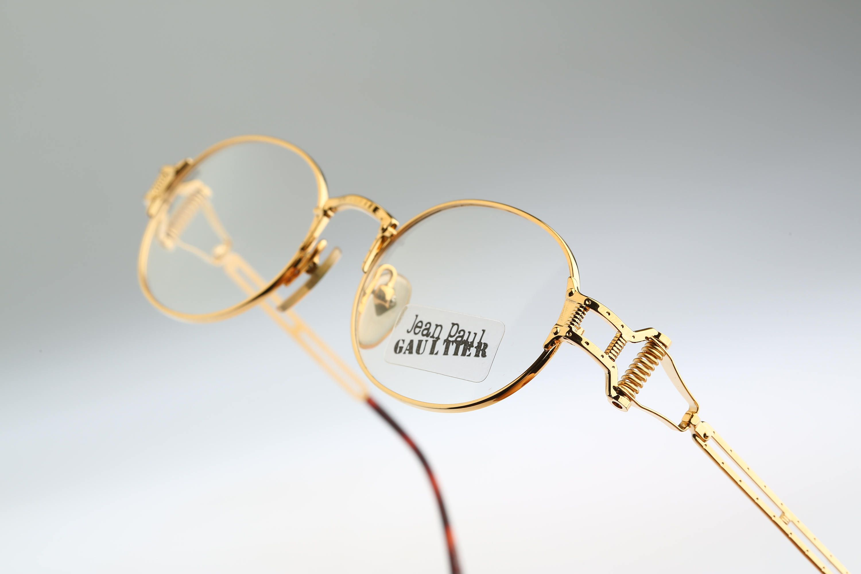 d12f3d0866 Jean Paul Gaultier 55-5110   vintage eyeglasses and sunglasses   NOS   90 s  rare and unique by CarettaVintage on Etsy