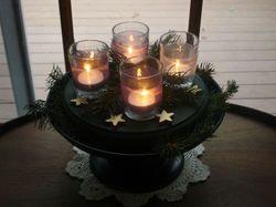 A Homemade Advent Wreath