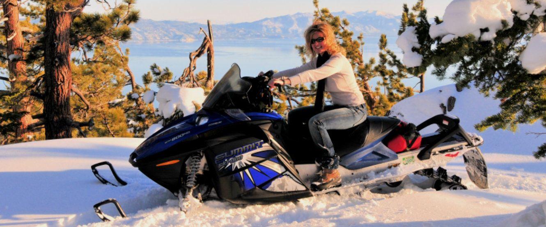 Lake tahoe snowmobiling tours lake tahoe winter