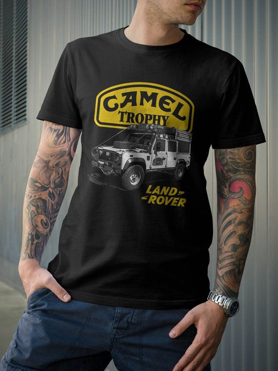 5cb19a42f01f Camel Trophy Land Rover Defender Discovery TShirt by 21street ...