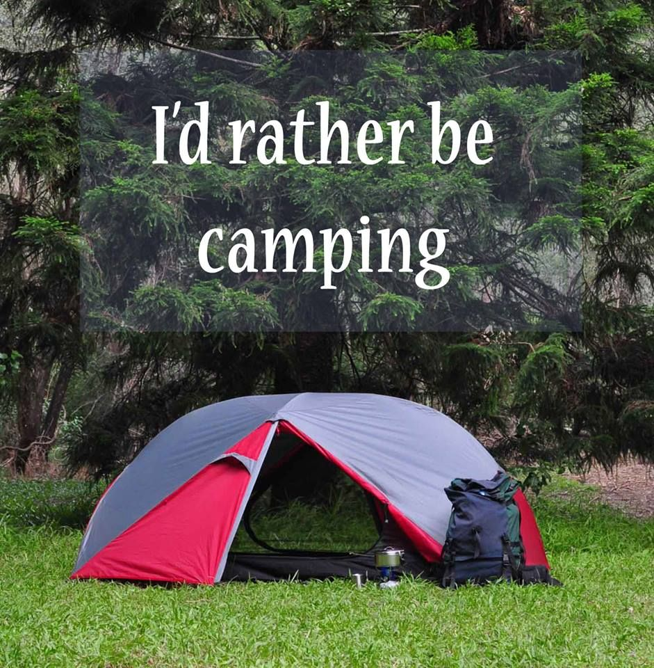 Bikers & Iu0027d rather be camping! #outdoorconnection #camping #hiker #biker ...