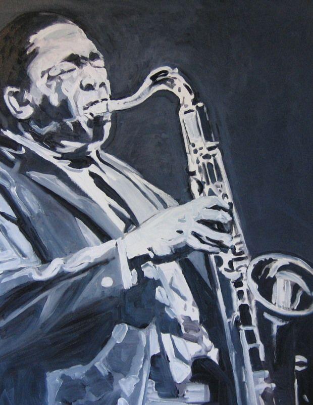 John Coltrane by Michael Symonds