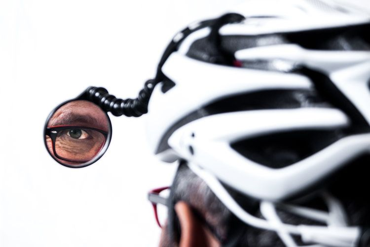Safe Zone Helmet Mirror Mirror Helmet Bicycle