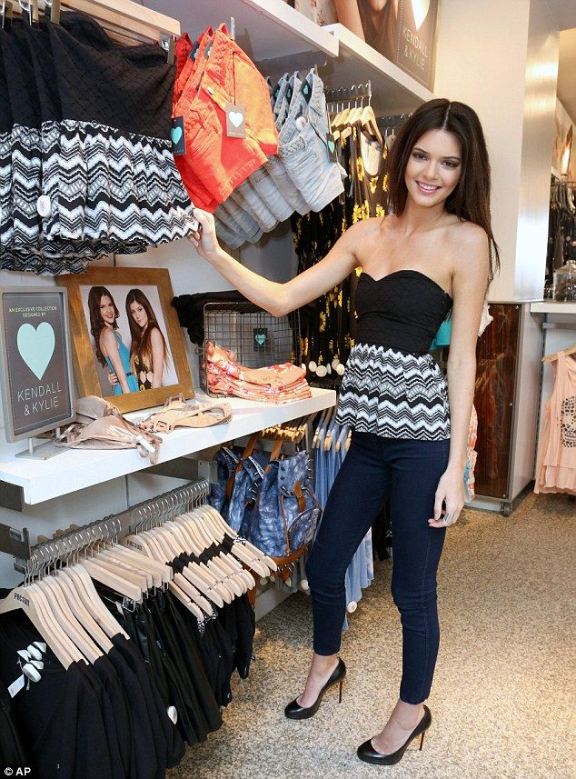 Kendall Jenner debut new clothing line for PacSun