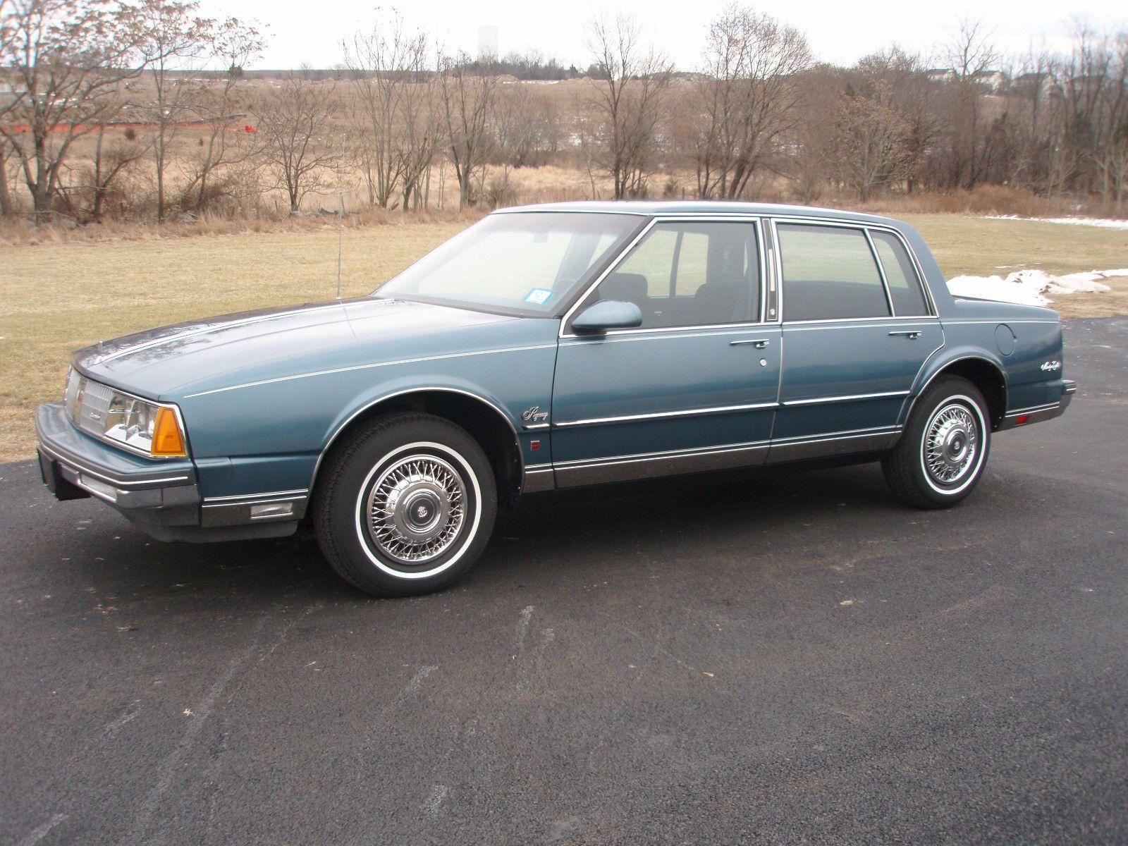 1985 oldsmobile ninety eight regency w 3 800 original miles these were very nice
