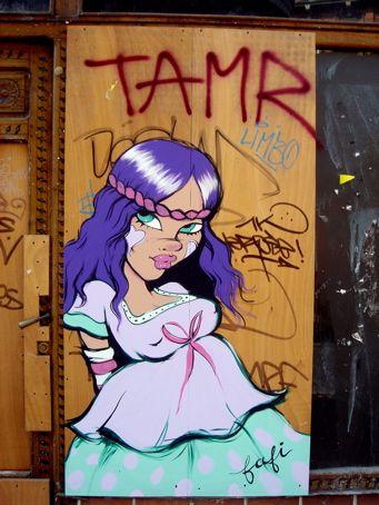Fafi Street Art