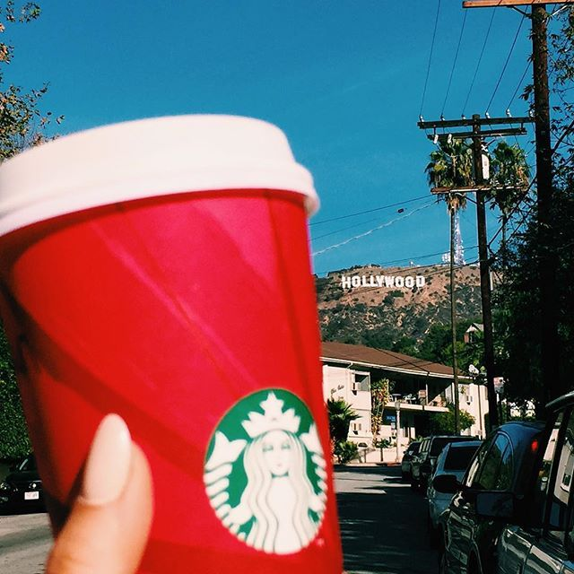 happiness is red cup season
