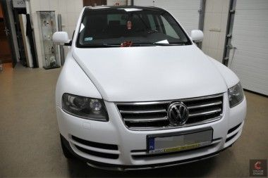 Vw Touareg White Matt Carbon Dream Cars Car Detailing Car