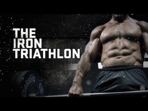 The Iron Triathlon WOD with Jason Khalipa and Dan Bailey