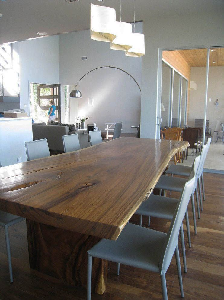 19 Splendid Modern Eating Areas 12 Seat Dining Table Slab
