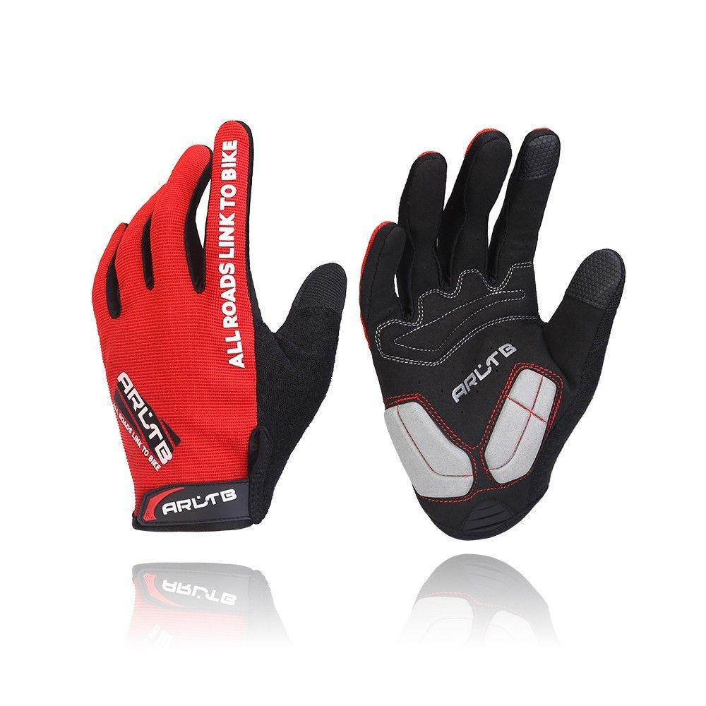 Cycling Gloves Full Finger Mountain Bike Road Racing Bicycle Gloves