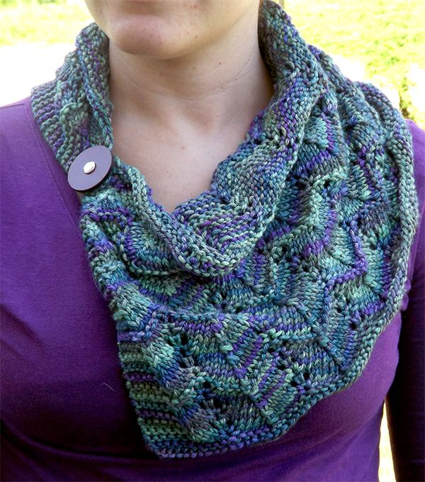 One Skein Cowl Knitting Patterns- In the Loop Knitting ...
