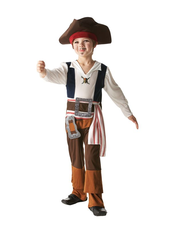 Child Pirates Caribbean Jack Sparrow Fancy Dress Costume Book Week Kids Boys | eBay  sc 1 st  Pinterest & Child Pirates Caribbean Jack Sparrow Fancy Dress Costume Book Week ...
