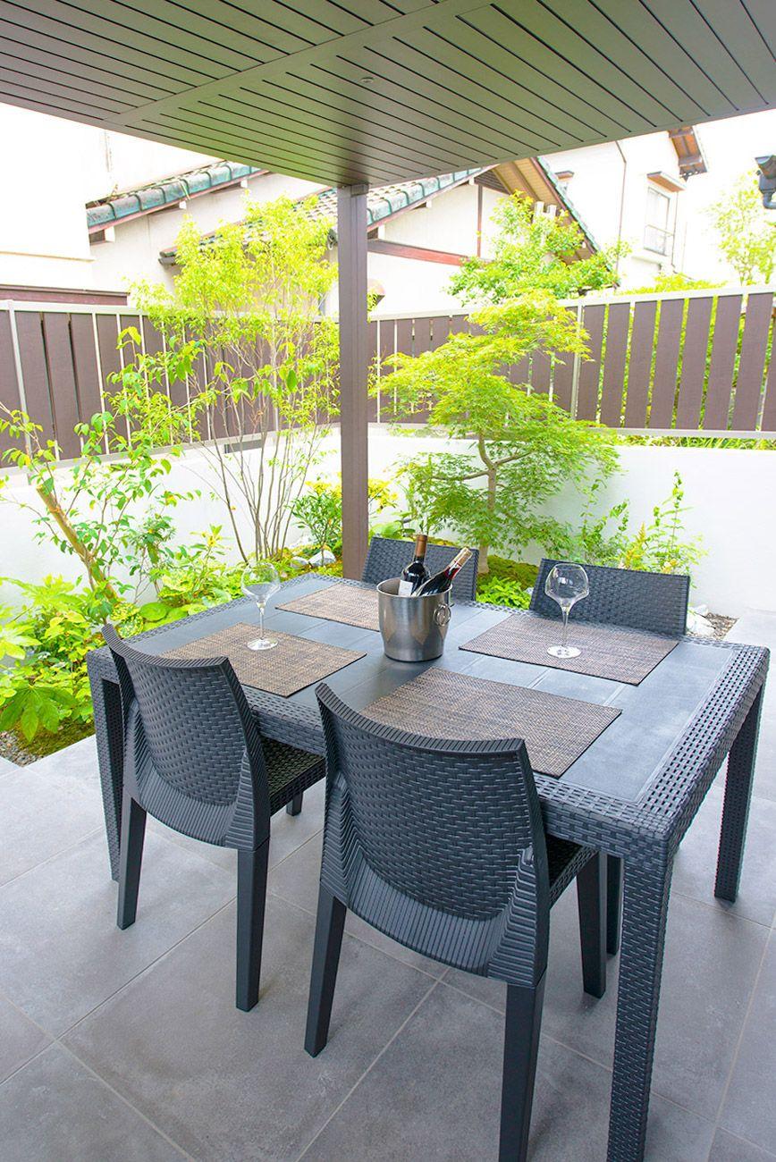 昼夜で表情を変えるガーデン 福岡のエクステリア 外構 ガーデン工事専門 カエデスタイル エクステリア ガーデン 工事
