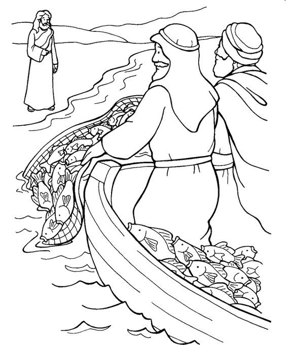 Jesus Water Coloring Page Jesus Called Out To Them Come Be My