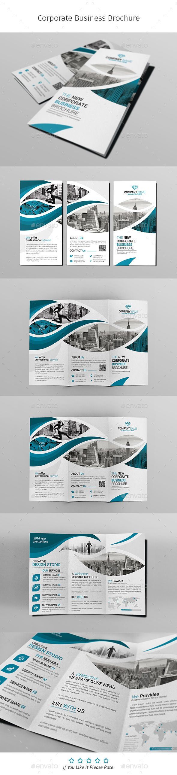 A4 Corporate Business Flyer Template Vol 01 | Pinterest | Business ...