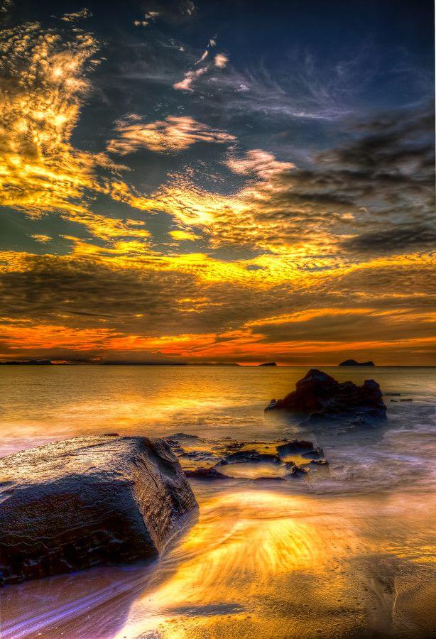Beach Sunset Scenery Views Beautiful Nature Beautiful Landscapes Beautiful Sunset